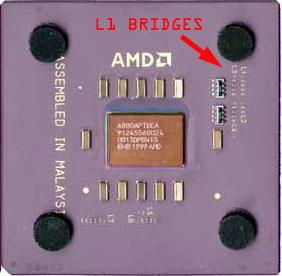 Easily unlocked AMD T-bird