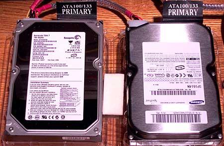 160G/8mb-cache Faceoff: Samsung vs. Seagate