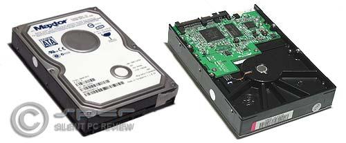 Maxtor Diamondmax 10/300 & Hitachi 7K250 Hard Drives