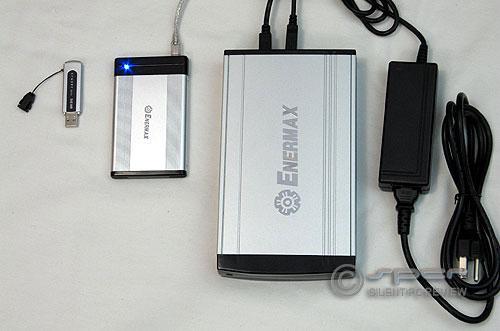 Enermax Laureate EB205U external notebook HDD enclosure