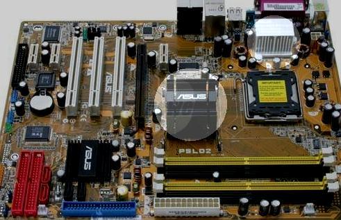 motherboard hot spots
