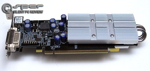 Fanless PCIe Graphics Cards from Asus and Aopen