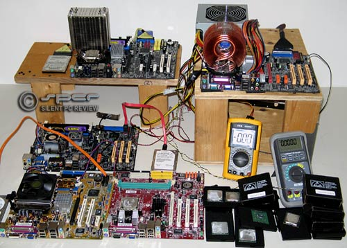 Desktop CPU Power Survey, April 2006