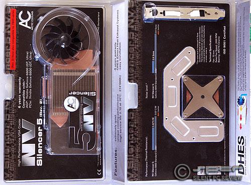 VGA Coolers:  Thermalright V1 Ultra, Zalman 700 & 900, AC Silencer 5 v.3