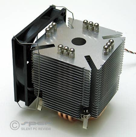 Scythe Ninja heat sink with fan attached