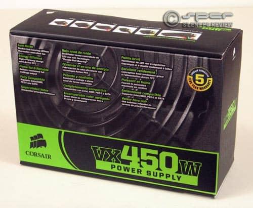 Corsair VX450W: Quiet Value PSU