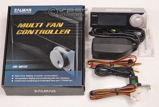 Zalman ZM-MFC2:  4 x Fan Controller + Power Meter