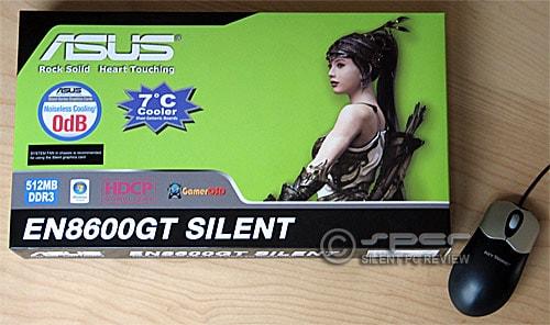 Asus EN8600GT Silent/HTDP/512M Graphics Card