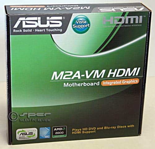 Asus M2A-VM HDMI: AM2 mATX motherboard