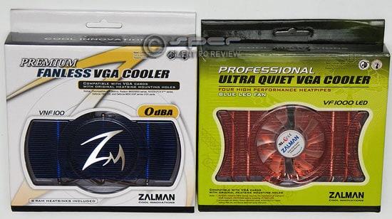 Zalman VF1000 LED Graphics Card Cooler