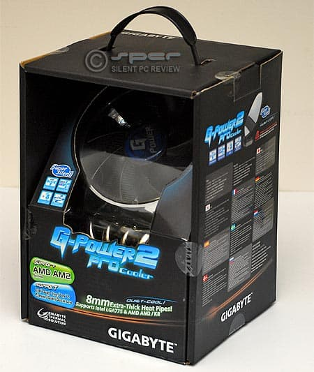 Gigabyte G-Power 2 Pro CPU cooler