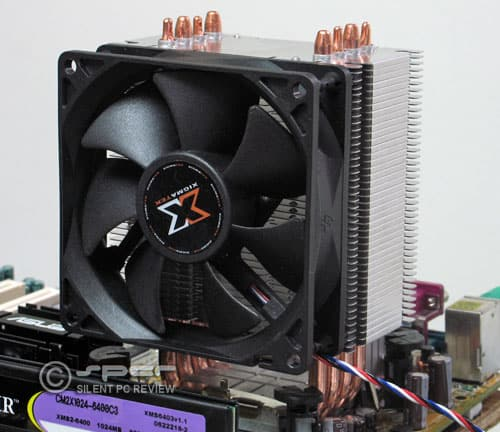 Xigmatek Hdt S1283 Sd964 Heatpipe Direct Touch Cpu Coolers Silent Pc Review