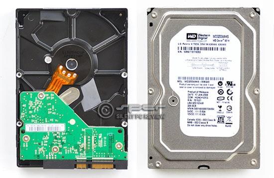 Western Digital's single-platter 320GB Caviar SE16 WD3200AAKS