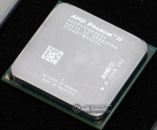 Amd Phenom Ii X4 955 Black Edition For Am3 Silent Pc Review