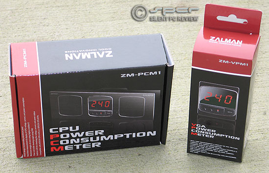 Zalman CPU & VGA Power Consumption Meter