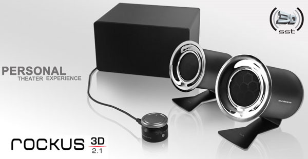 Soundscience Rockus 3D | 2.1 speaker system