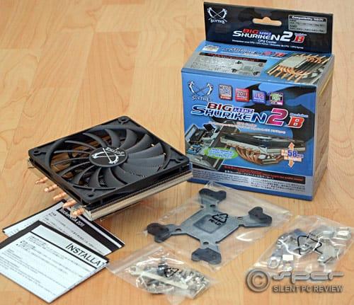 Scythe Big Shuriken 2 & Reeven Vanxie CPU Coolers