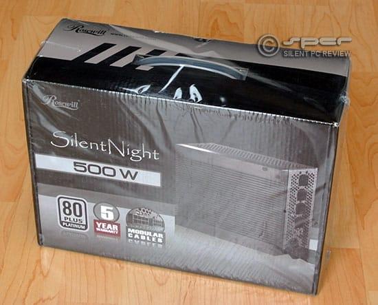 Rosewill Silent Night 500 Platinum 80 Plus