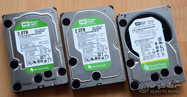 Recommended Hard Drives
