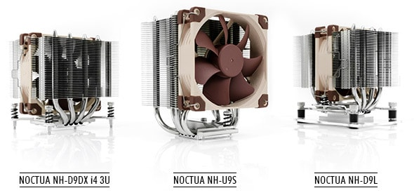 New 92mm-fan Tower Coolers from Noctua